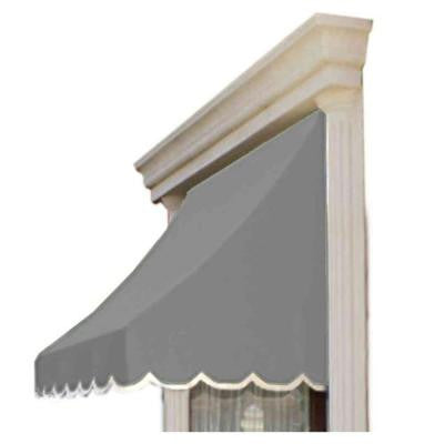 6 ft. Nantucket Window/Entry Awning (56 in. H x 48 in. D) in Gray