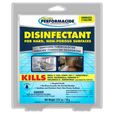 Performacide 1 Gal. Disinfectant for Hard Non-Porous Surfaces Refill (3-Pack)