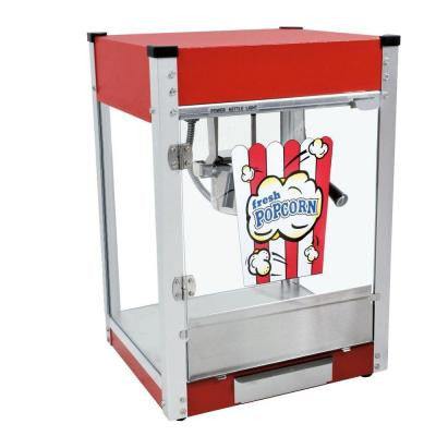 Cineplex 4 oz. Popcorn Machine in Red