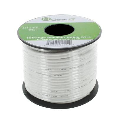 50 ft. 16-Gauge Speaker Wire - White