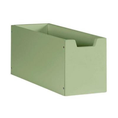 6 in. H Rhododendron Leaf Craft Space Deep Cubby Drawer