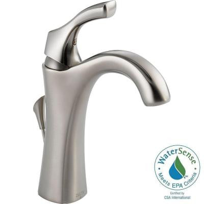 Addison Single Hole Single-Handle Bathroom Faucet in Stainless