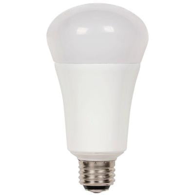 30/60/100W Equivalent Soft White Omni A21 3-Way LED Light Bulb
