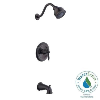 9500 Series Single-Handle 3-Spray Tub and Shower Faucet in Oil Rubbed Bronze