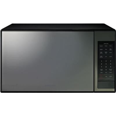 1.4 cu. ft. Countertop Microwave in Stainless Steel with Shiny Mirror Design