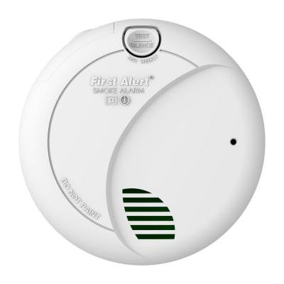 Battery Operated Photoelectric Smoke Alarm with Lithium Battery