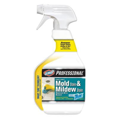 32 oz. Professional Instant Mold Stain and Mildew Stain Remover with Bleach Spray