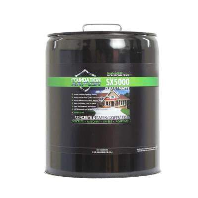 SX5000 5 gal. Penetrating Clear Concrete and Masonry Water Repellent Sealer with Salt Guard
