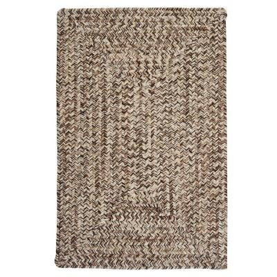 Corsica Weathered Brown 2 ft. x 3 ft. Braided Accent Rug