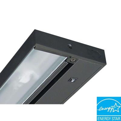 Pro-Series 22 in. Black Fluorescent Under Cabinet Light