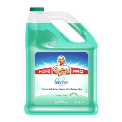 128 oz. Multi-Surfaces Liquid Cleaner with Febreze Freshness Meadows and Rain Scent