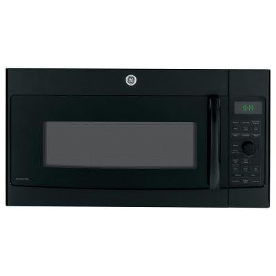 Profile 1.7 cu. ft. Over the Range Convection Microwave in Black with Sensor Cooking