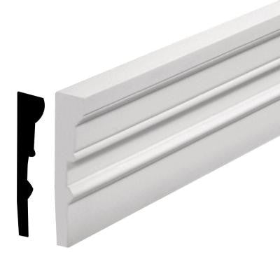 1-3/4 in. x 96 in. x 7 in. Polyurethane Window and Door Casing Moulding