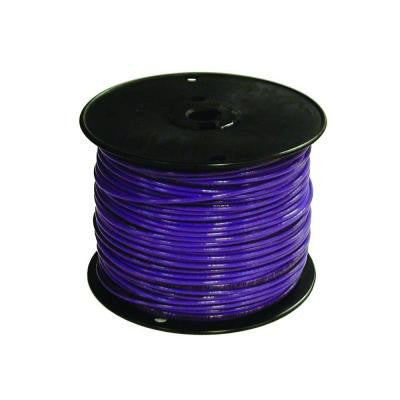 500 ft. 16/1 TFFN Fixture Wire - Purple