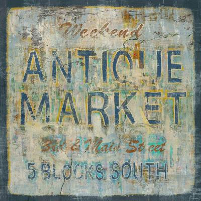 "24 in. x 24 in. ""Antique Market"" by Sofia Fox Gallery Wrapped Canvas Wall Art"