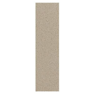 Colour Scheme Urban Putty Speckled 1 in. x 6 in. Porcelain Cove Base Corner Trim Floor and Wall Tile