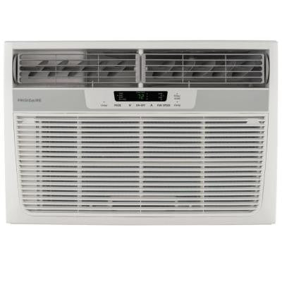 12,000 BTU Window Air Conditioner with Heat and Remote