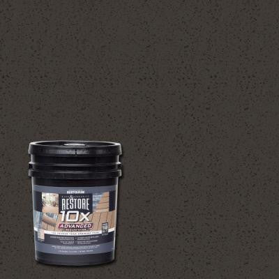 4 gal. 10X Advanced Bark Deck and Concrete Resurfacer