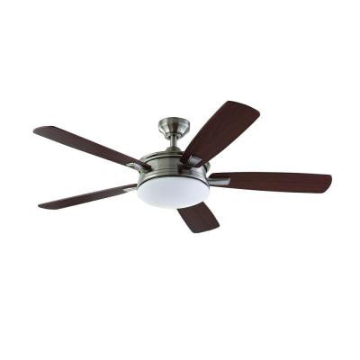 Daylesford 52 in. LED Brushed Nickel Ceiling Fan