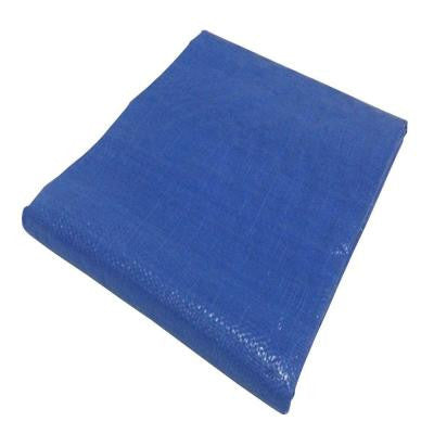 10 ft. x 12 ft. Blue Polyethylene General Duty Tarp