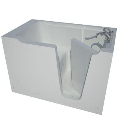 5 ft. Right Drain Walk-In Bathtub in White