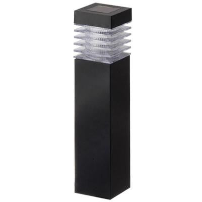 Black Plastic Square Bollard (6-Pack)