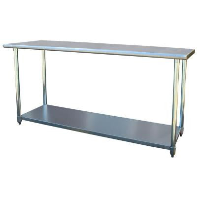 24 in. x 72 in. Stainless Steel Utility Work Table