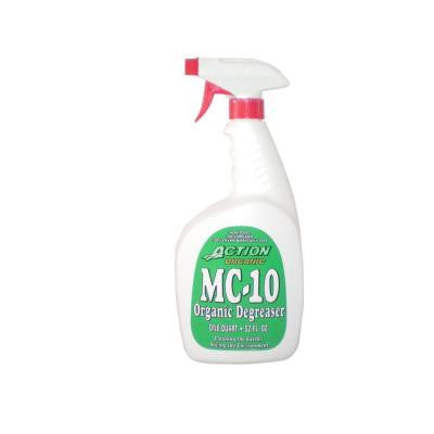 32 oz. Bottle with Sprayers Organic All-Purpose Cleaner and Degreaser (at 50% Concentrate) (1-Case)