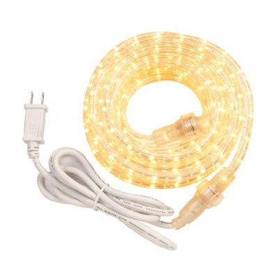48 ft. Incandescent White Rope Light Kit