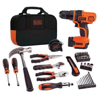 12-Volt Lithium-Ion Cordless Drill and Project Combo Kit