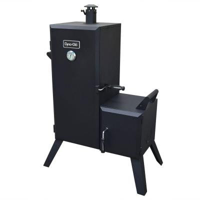 47 in. Vertical Off-Set Charcoal Smoker