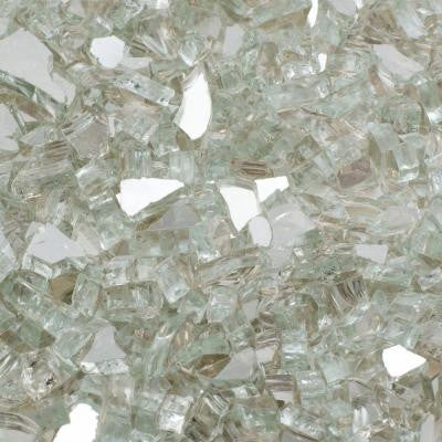 25 lb. Crystal Reflective Tempered Fire Glass