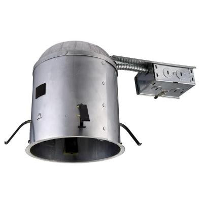 6 in. Recessed Line Voltage Remodel IC Air Tight Housing