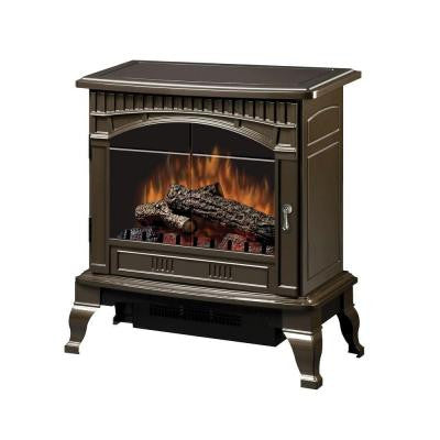 Traditional 400 sq. ft. Electric Stove in Bronze