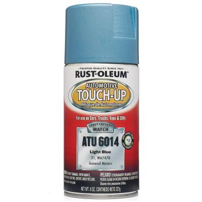 8 oz. Light Blue Auto Touch-Up Spray (Case of 6)