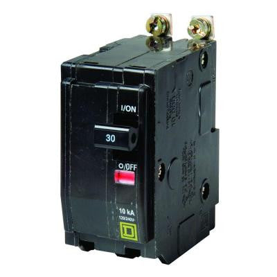 QO 30 Amp 2-Pole Bolt-On Circuit Breaker