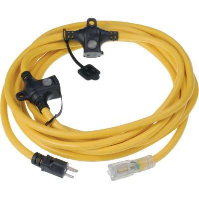 ElectraTrac IMOC 50 ft. 14/3 Extension Cord with 3-Outlet