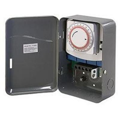 40 Amp 208-277-Volt Single Pole Single Throw Outdoor Mechanical Timer