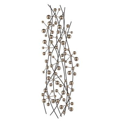 Vesilina Metal Decorative Wall Sculpture