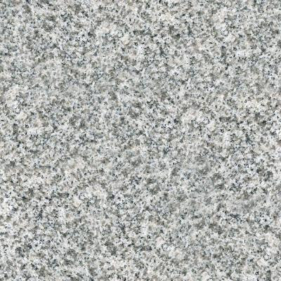 4 in. x 4 in. Natural Granite Vanity Top Sample in Speckled White