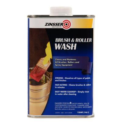 1-qt. Brush and Roller Wash (6-Pack)