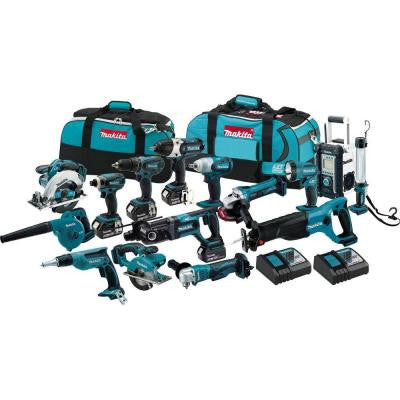 18-Volt LXT Lithium-Ion Cordless Combo Kit (15-Tool)