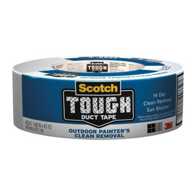 Scotch 1.88 in. x 45 yds. Tough Outdoor Painter's Clean Removal Duct Tape