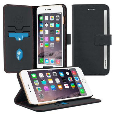 Prestige Wallet Case and Folio Flip Cover with Stand for iPhone 6 Plus