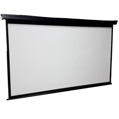 ProHT 84 in. Manual Projection Screen with Black Frame