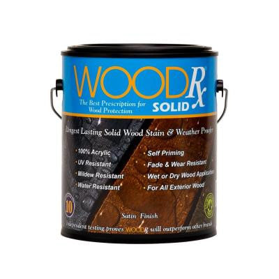 1-gal. Weathered Gray Solid Wood Stain and Sealer