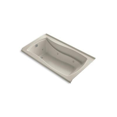 Mariposa 5.5 ft. Whirlpool Tub in Sandbar