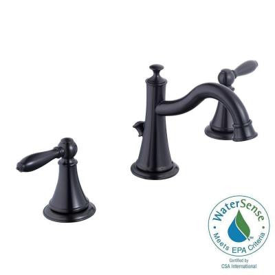 9500 Series 8 in. Widespread 2-Handle High Arc Bathroom Faucet in Oil Rubbed Bronze