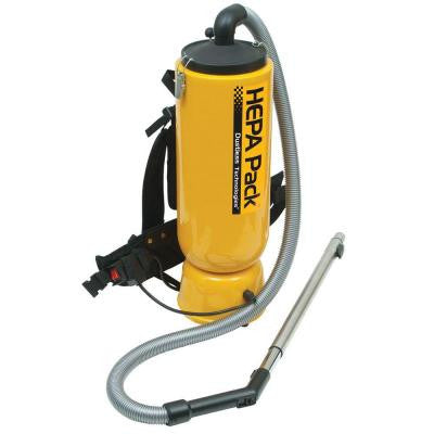HEPA Pack Vacuum for Janitorial and Construction Applications