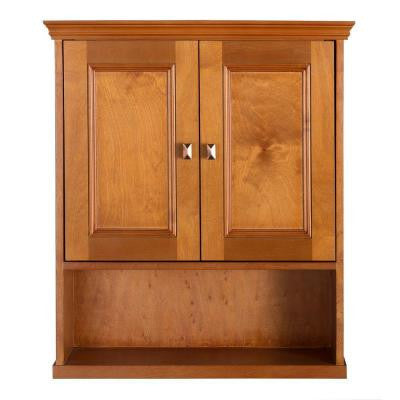Exhibit 23-3/4 in. W Wall Cabinet in Rich Cinnamon